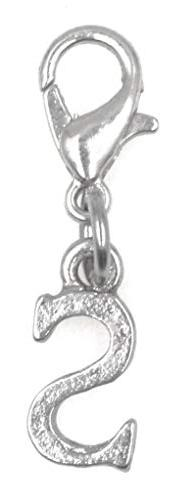 Letter Clip on Charm Perfect for Necklaces and Bracelets Ini