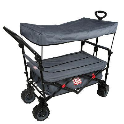 competition push pull wagon and locking zipper