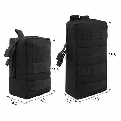 FUNANASUN 2 Molle Pouches - Water-Resistant Pouch