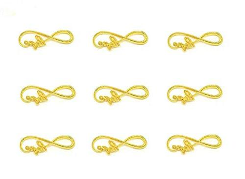 infinity hope symbol connectors charms