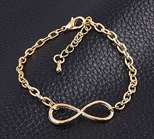 50pcs Infinity Connectors Charms for Bracelet Jewelry Making Accessories