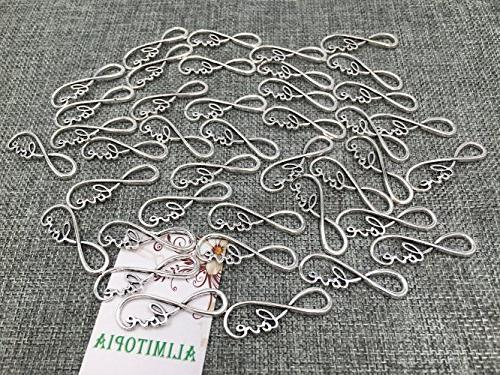 Alimitopia 40pcs Symbol Connectors Charms for Accessories By