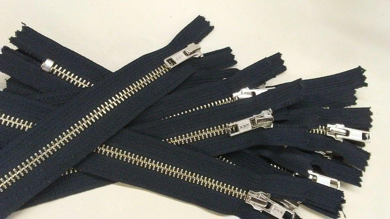 """Lot of 4 #5 Closed-End Zipper Pull 5"""""""