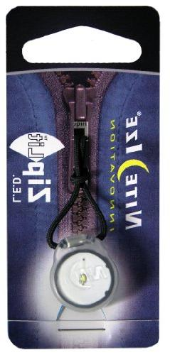 Nite Ize Zipper Pull, With Pull Cord For Easy Attachment To White