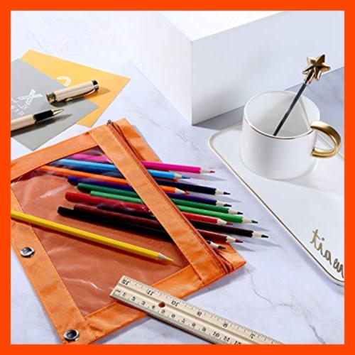 Pencil Binder Bags W Pulls For Office Supplies 8