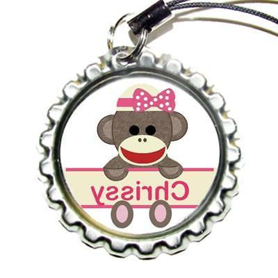 Personalized Bottle Cap Bag Tag Backpack