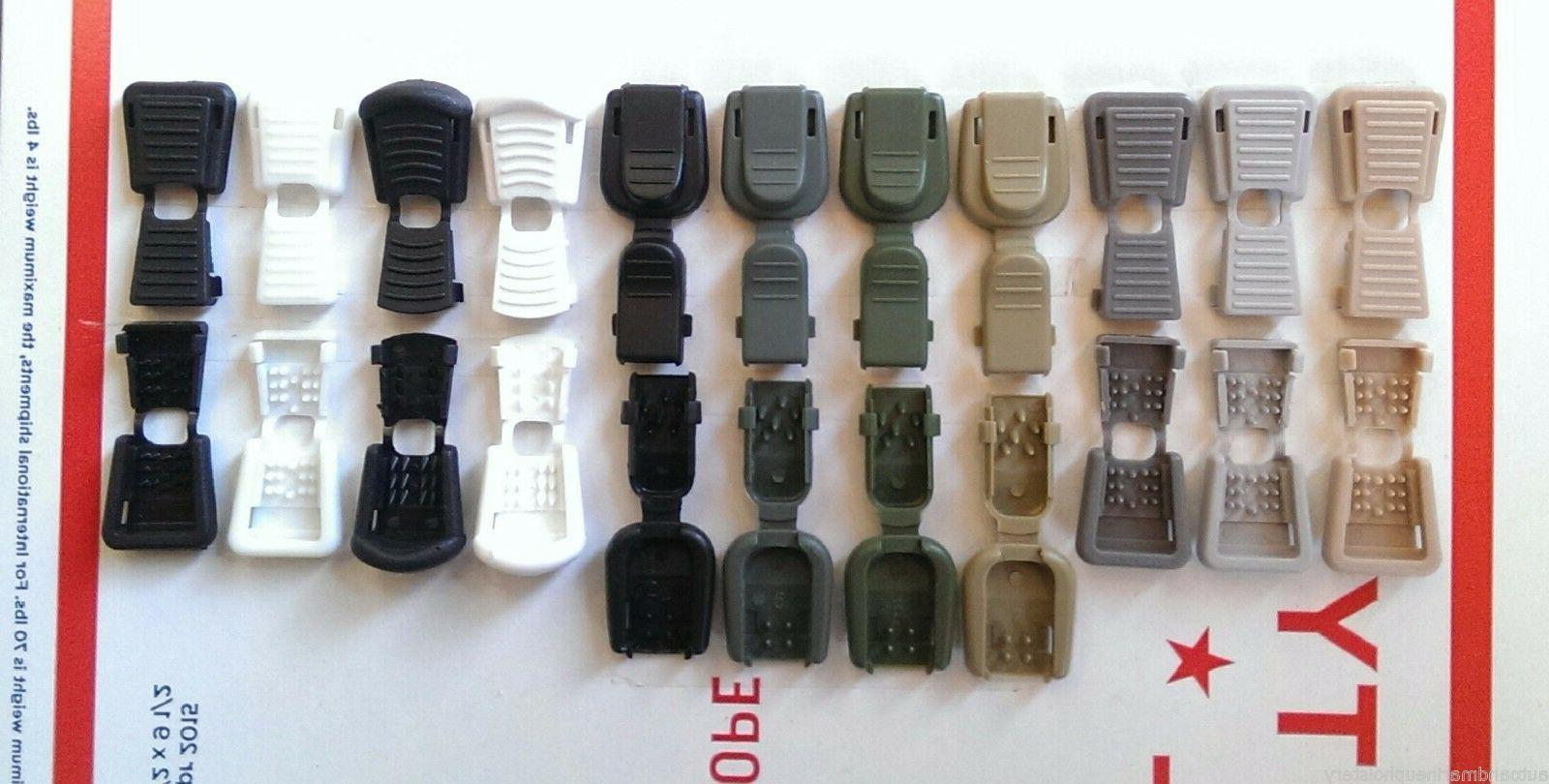 Plastic Pull Lock Ends Paracord Tactical Military