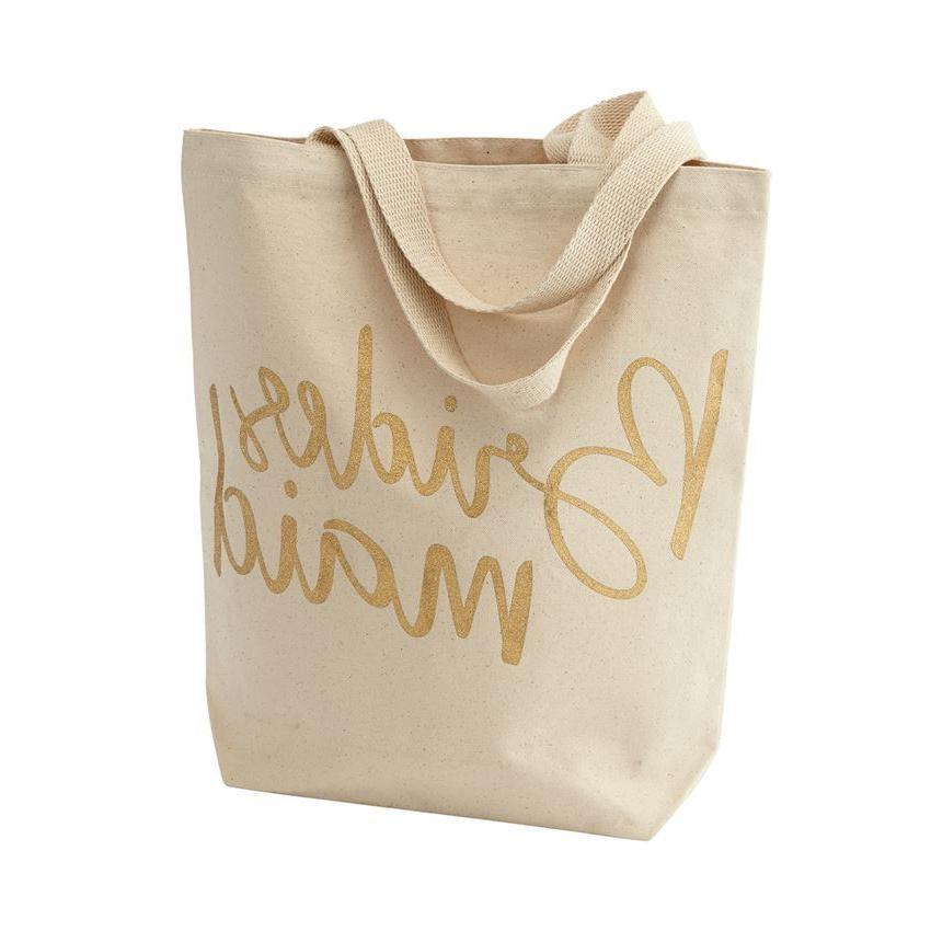 Mud Pie Canvas Tote