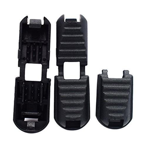 25 Pack Zipper Cord Black Buckle Cord,Shoes,Molle Backpack