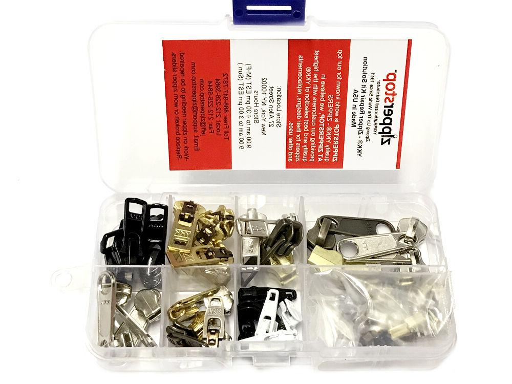 zipper repair kit solution clothing or outdoor