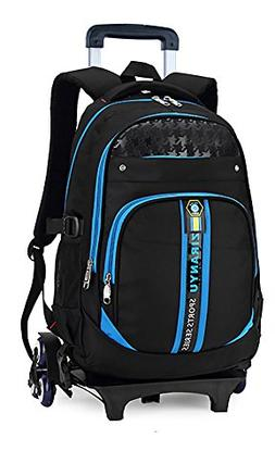 Meetbelify Trolley School Bags Backpack For Boys With Six Wh