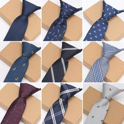 XGVOKH Men <font><b>Zipper</b></font> Lazy Ties Business Nec