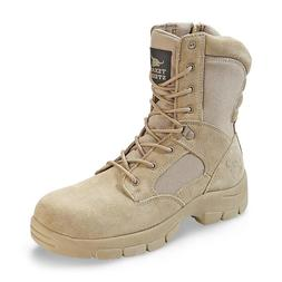 Men's Hiking Work Boot Tactical Military Pull On Lace Up Sid