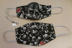 """MOMMY/DADDY & ME """"WALKING DEAD"""" FACE MASK / COVERING WITH FI"""
