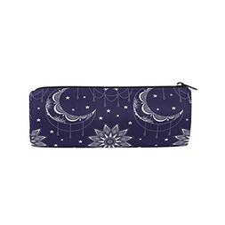 Cooper Girl Moon Sun Mandala Pencil Bag Pen Case Students St