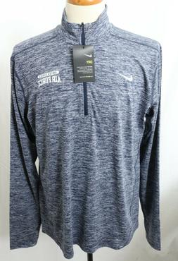 New Nike Dri-Fit Navy United States Air Force 1/4 Zip Pull O