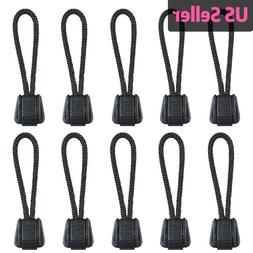 5-10 PCS Paracord Zipper Pulls Plastic Pull Tab for Backpack