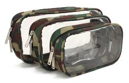 Packies by DayMakers: Clear Sided Zipper Cases for Gear, Cos