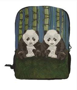 Panda Cubs Backpack, Book bag - Support Wildlife Conservatio