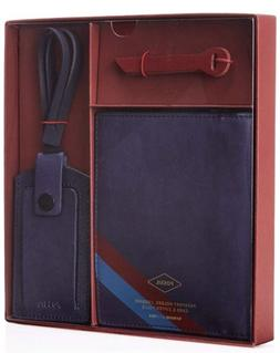Fossil Passport Holder, Luggage Card & Zipper Pulls - Genuin