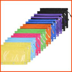 pencil pouch 3 ring binder bags w