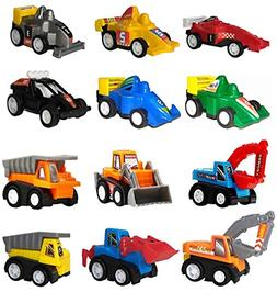 WINONE Pull Back Cars, Toys for 2 3 4 5 Year Old Boys Toddle