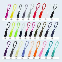Zip Pull Zipper Puller Cord Slider Fastener Bag Backpack Rep
