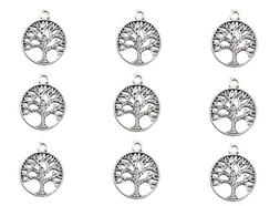 50pcs The Sephirothic Tree Kabbalah Tree Of Life Lucky Charm