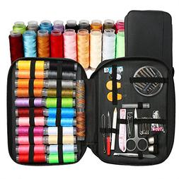BetyBedy Sewing Kit with 95 Sewing Accessories, Mini Sewing