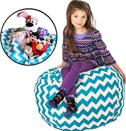 Stuffed Animal Storage BeanBag Style - Get the POPULAR CHEVR