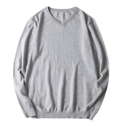 Sweater Men Autumn Winter Loose Long Sleeve Shirt Mens Sweat