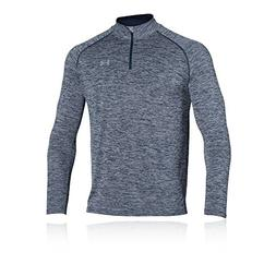 Under Armour Men's UA Tech 1/4 Zip, Academy /Steel, Large