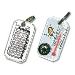 Sun Company Therm-o-Compass - Zipper Pull Compass and Thermo