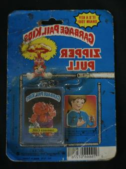 Vintage 1985 Garbage Pail Kids Zipper Pull Tag & Bouncy Ball