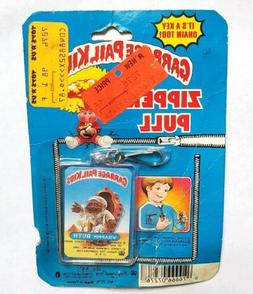 VINTAGE NEW 1986 GARBAGE PAIL KIDS ZIPPER PULL WRAPPIN RUTH