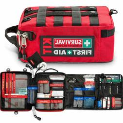 Survival Work/Home First Aid Kit Complete Organized Emergenc