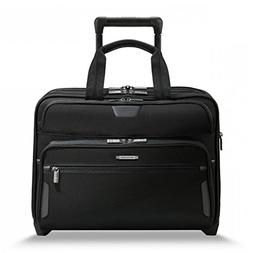 Briggs & Riley @ Work Luggage Expandable Rolling Brief, Blac