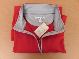 Peter Millar  Zipper  Pull Over  Polo  Size:  Large Polo