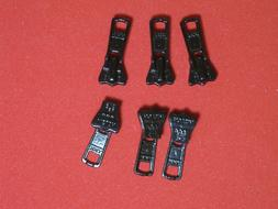Zipper Pulls YKK  - 5V Vislon Zipper Slides Black Only  - 6