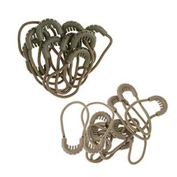 MagiDeal 20 Pieces Zipper Pulls Cord Rope Ends Lock Zip Fast