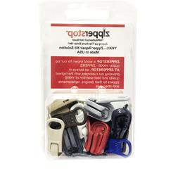 Zipper Repair Kit Solution YKK #5 Molded Reversible Fancy Pu
