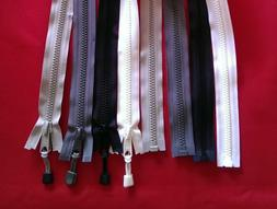 Zippers #8 YKK Vislon Marine Boat  Canvas With or Without Pu
