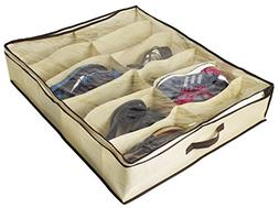 ZizHome Under Bed Shoe Organizer For Kids And Adults  ? Unde